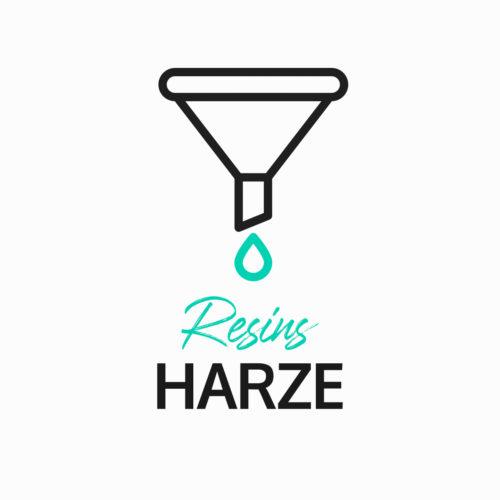 Resins / Harze
